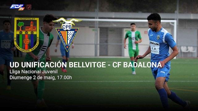 UD UNIFICACIÓN BELLVITGE - CF BADALONA