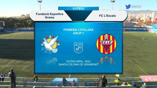FUNDACIÓ ESPORTIVA GRAMA - FC L'ESCALA
