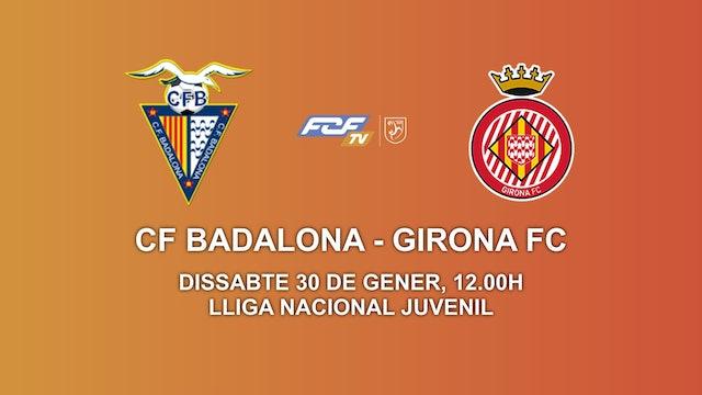 CF BADALONA - GIRONA FC