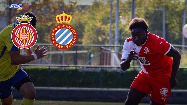Futbol GIRONA FC- RCD ESPANYOL DIVISIÓ HONOR JUVENIL