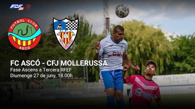 FC ASCÓ - CFJ MOLLERUSSA