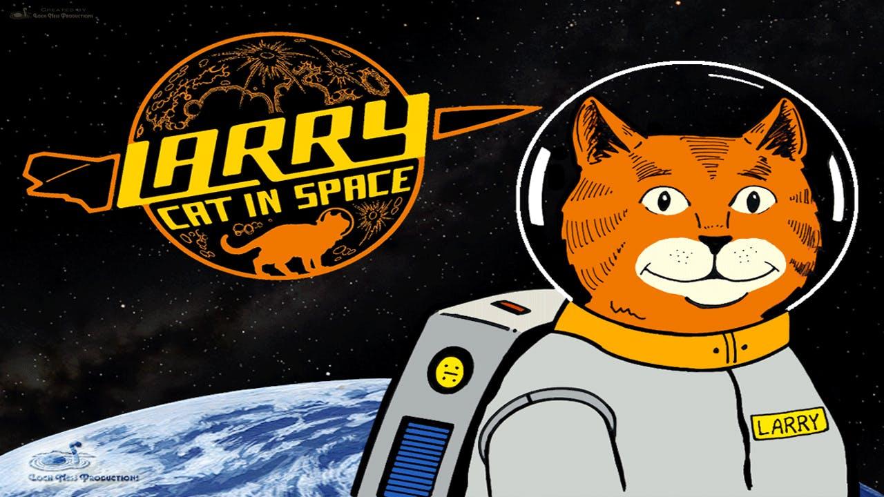 Larry Cat In Space - Portuguese