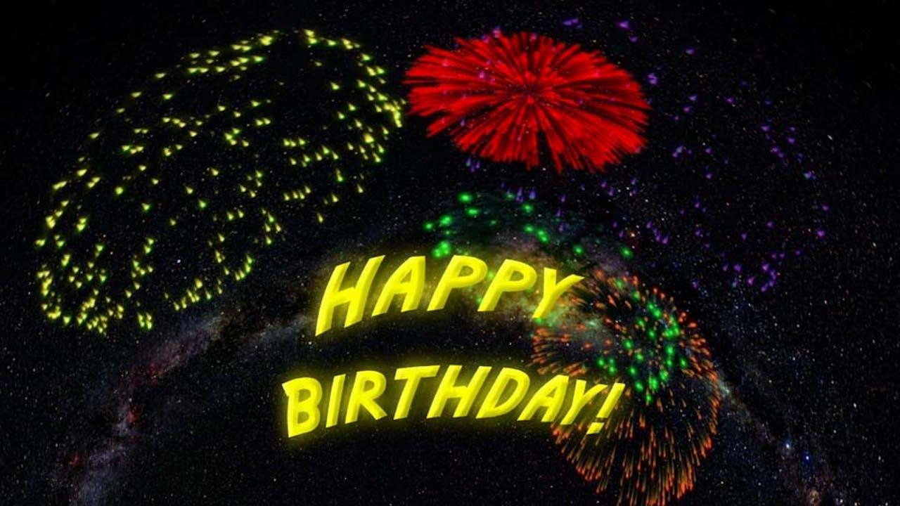 Happy Birthday From The Stars