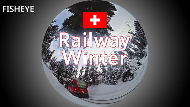 SWS Railway Winter - fisheye