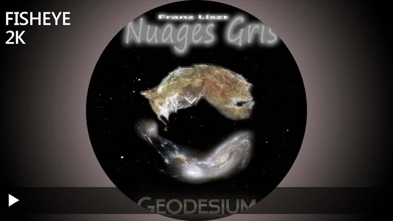 Geodesium Nuages Gris - 2k