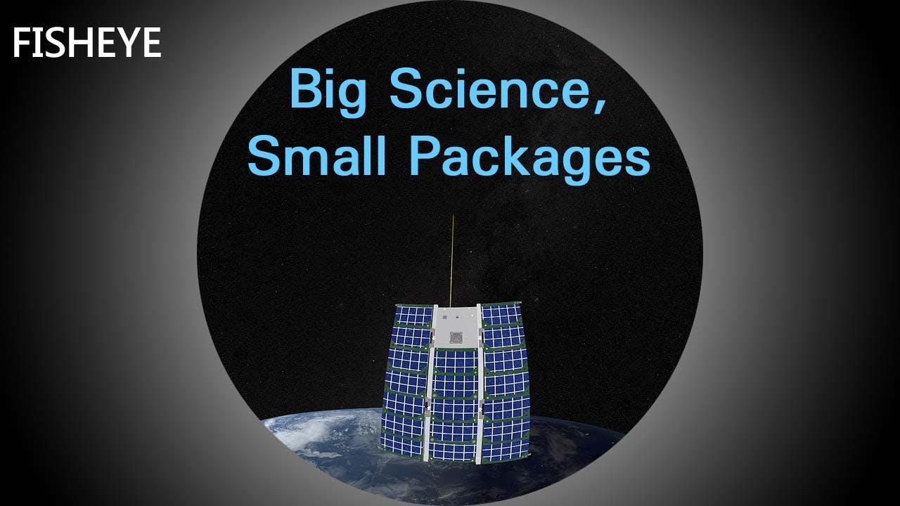 Explorations 2: Big Science - fisheye