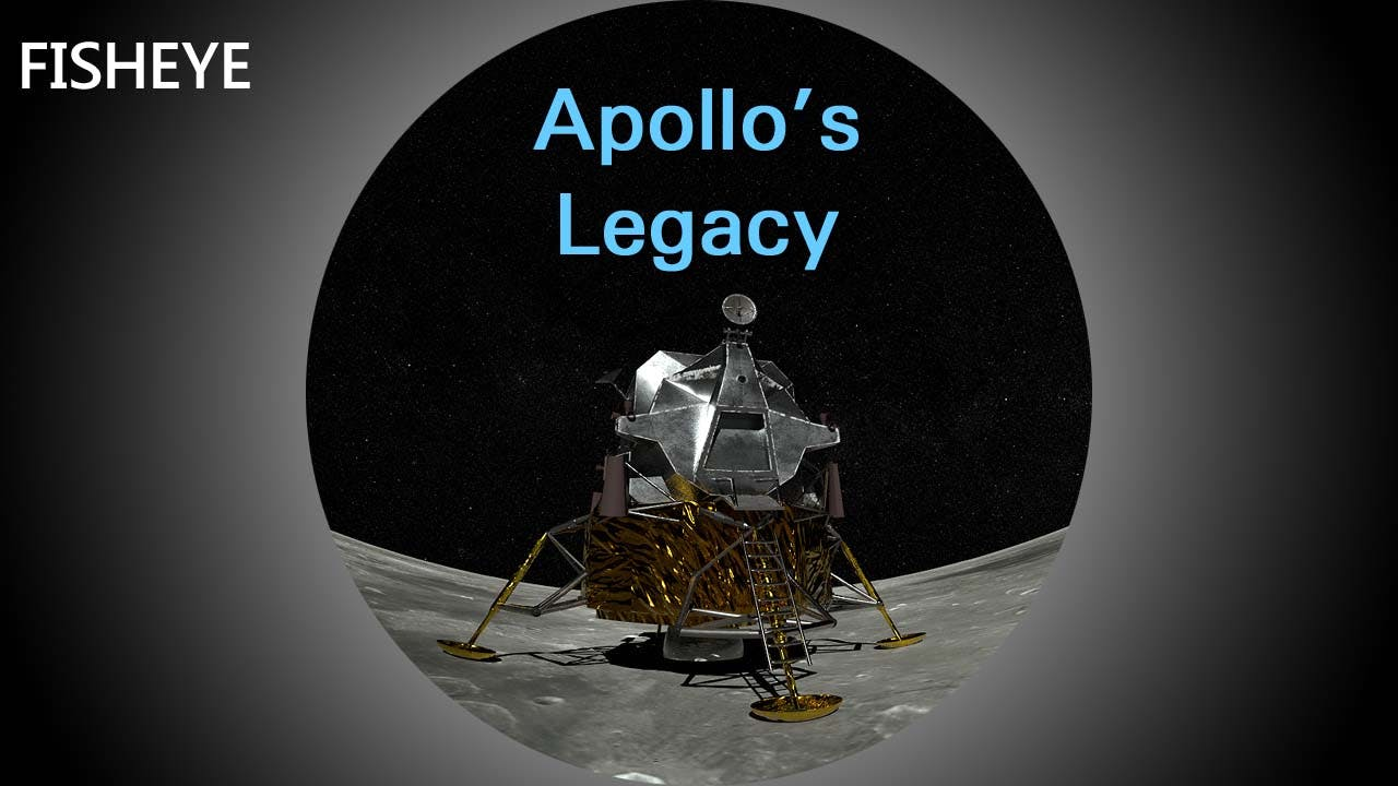 Explorations 5: Apollo's Legacy - fisheye