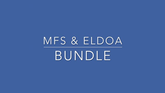 MFS & ELDOA Bundle