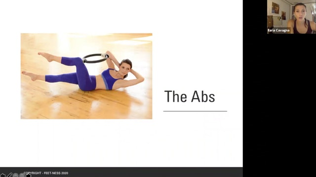 Zoom Call - The Teaser and the Abs in Pilates