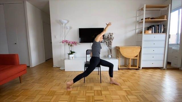 Desk ELDOA & Stretches - 8 min