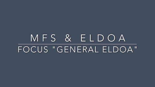 #3 MFS & ELDOA General ELDOA