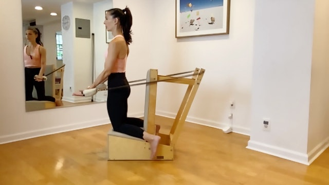 Sacrum challenge on the chair - 14 min