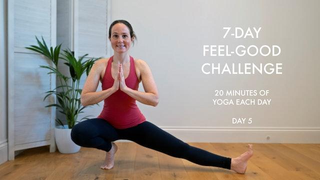 Day 5: Feel-good challenge