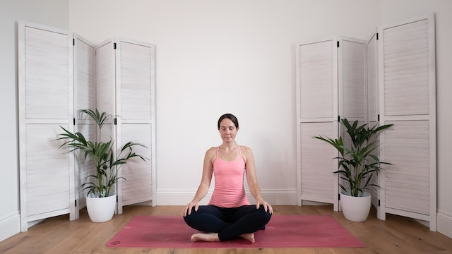 Breath awareness meditation