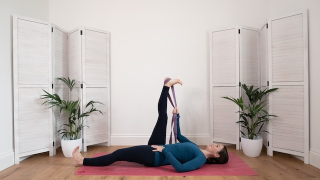 Front & back of hips: strength & flexibility