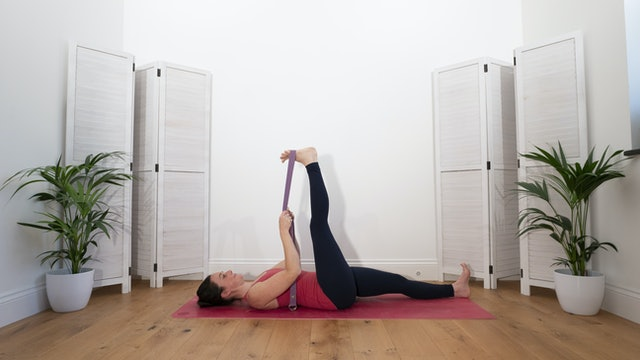 Lower back tension relief