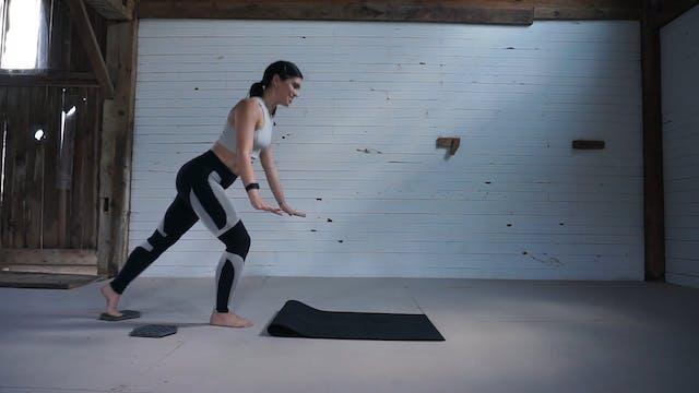 Pilates [Reverse Lunge and Plank Seri...