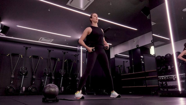 Sculpt [Upper Body & Core] with Sara Hoenes