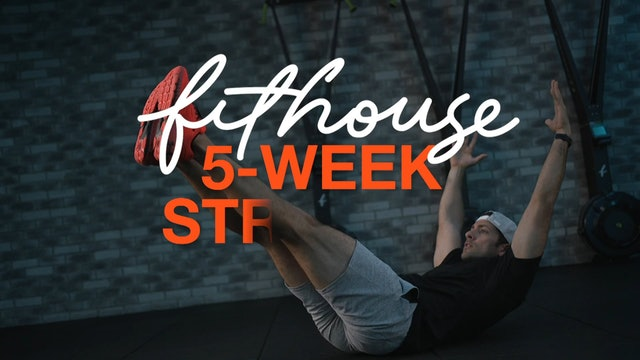 Strength with Kenny Santucci & Andrew Mariani - Week 4 [Day 2]