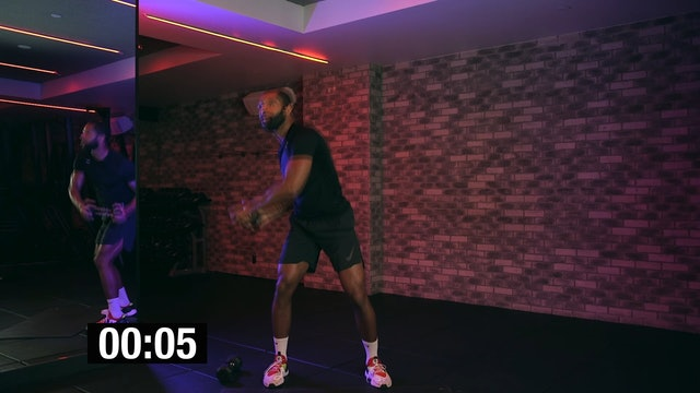 Cardio HIIT with Curtis Williams