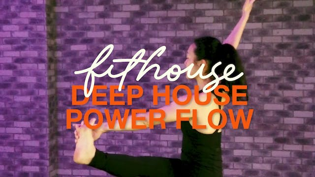 Deep House Power Flow with Saya Tomioka
