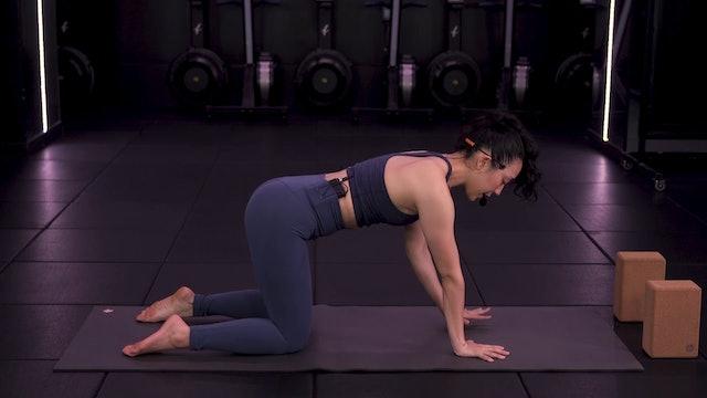 Nighttime Yoga Flow with Saya Tomioka