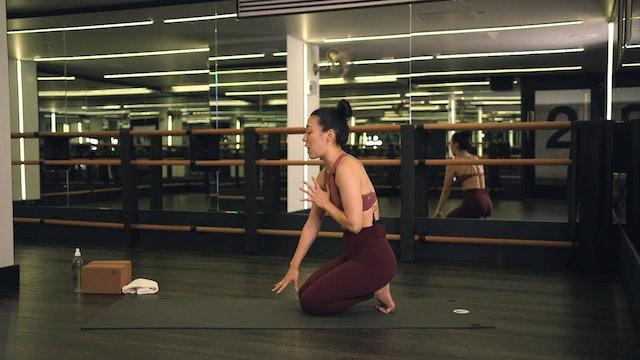 Hip Opener Yoga Flow with Saya Tomioka