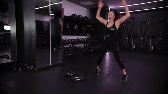 HIIT with Tatiana Firpo