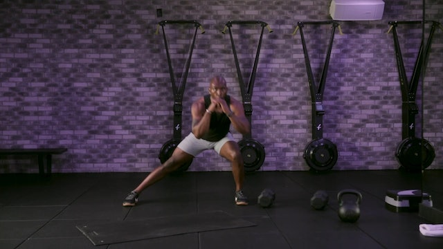 HIIT [Lower Body] with Troy Brooks