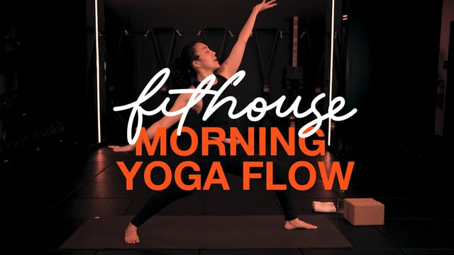 Morning Yoga Flow with Saya Tomioka