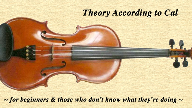 Theory According to Cal