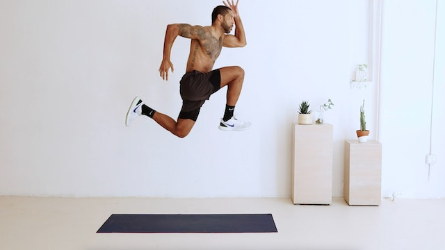 HIIT with Curtis Williams. THREE
