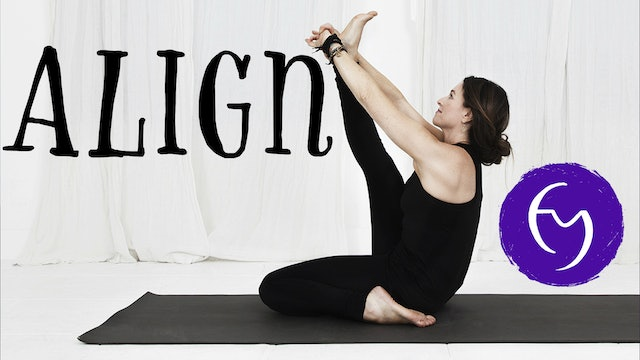"Align - ""A must have alignment course for all yogis practicing at home."""