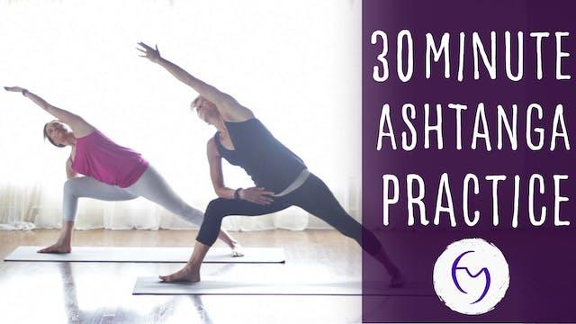 30 Min Ashtanga Practice