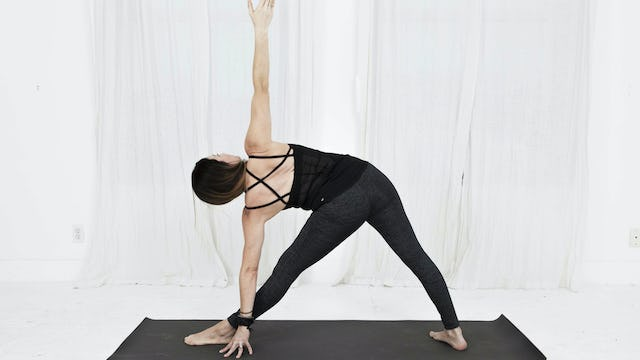 5. Day 2 - Virabadrasana 2 (Warrior 2) and Utthita Trikonasana (Triangle)