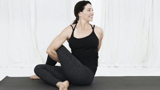 32. Day 10 - Practice Seated Twists, Baddha Konasana and Upavistha Konasana