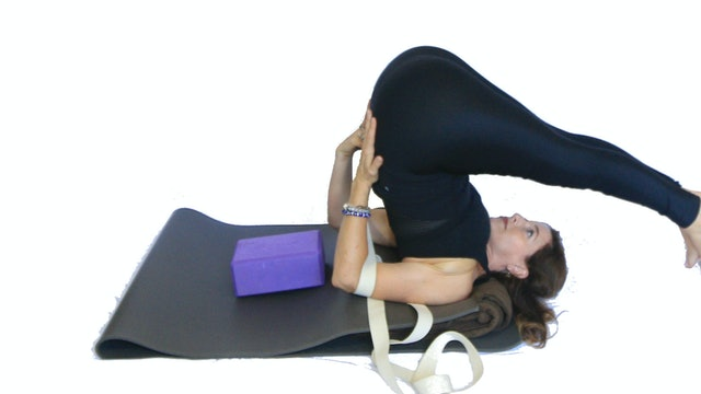 24. Day 7 - How to use a Strap in Shoulderstand if your elbows go wider than your shoulders