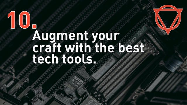 10. Augment your craft with the best ...