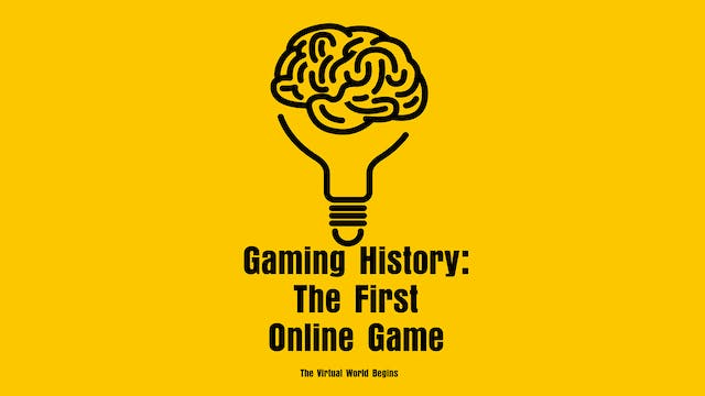 The History of Gaming 8