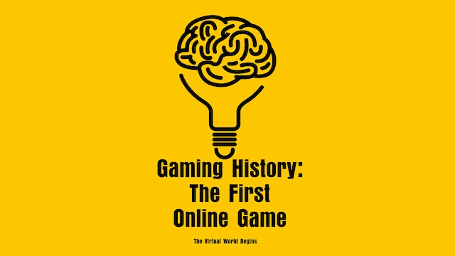 The History Of Gaming 1