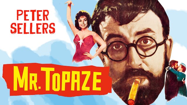 SONOMA FILM INST. presents MR. TOPAZE