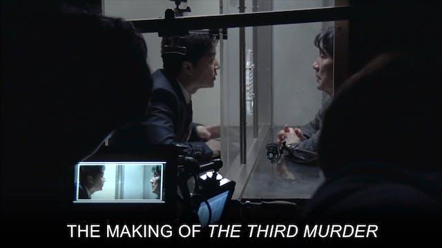 The Third Murder - Making Of