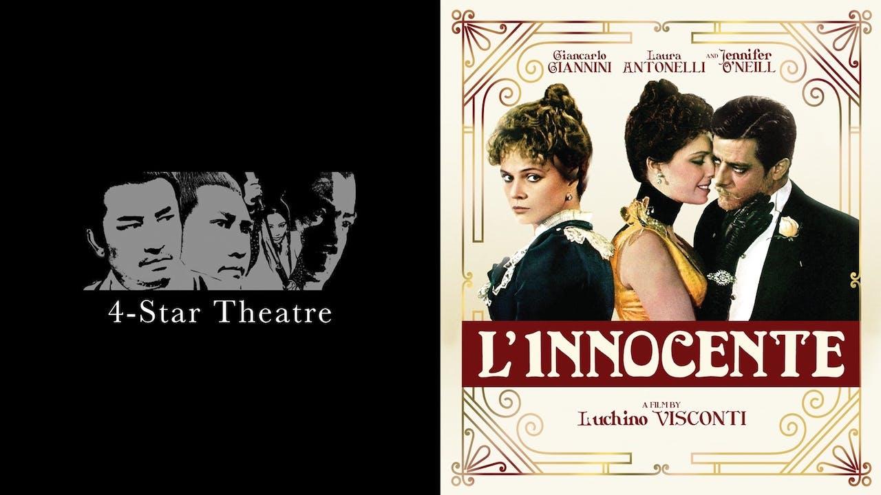 4-STAR THEATRE presents L'INNOCENTE