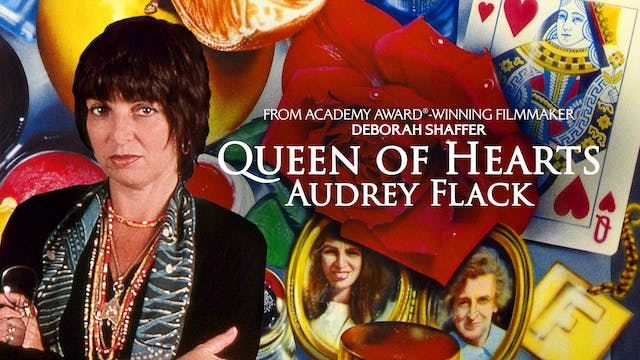 THE CAROLINA THEATRE-QUEEN OF HEARTS: AUDREY FLACK