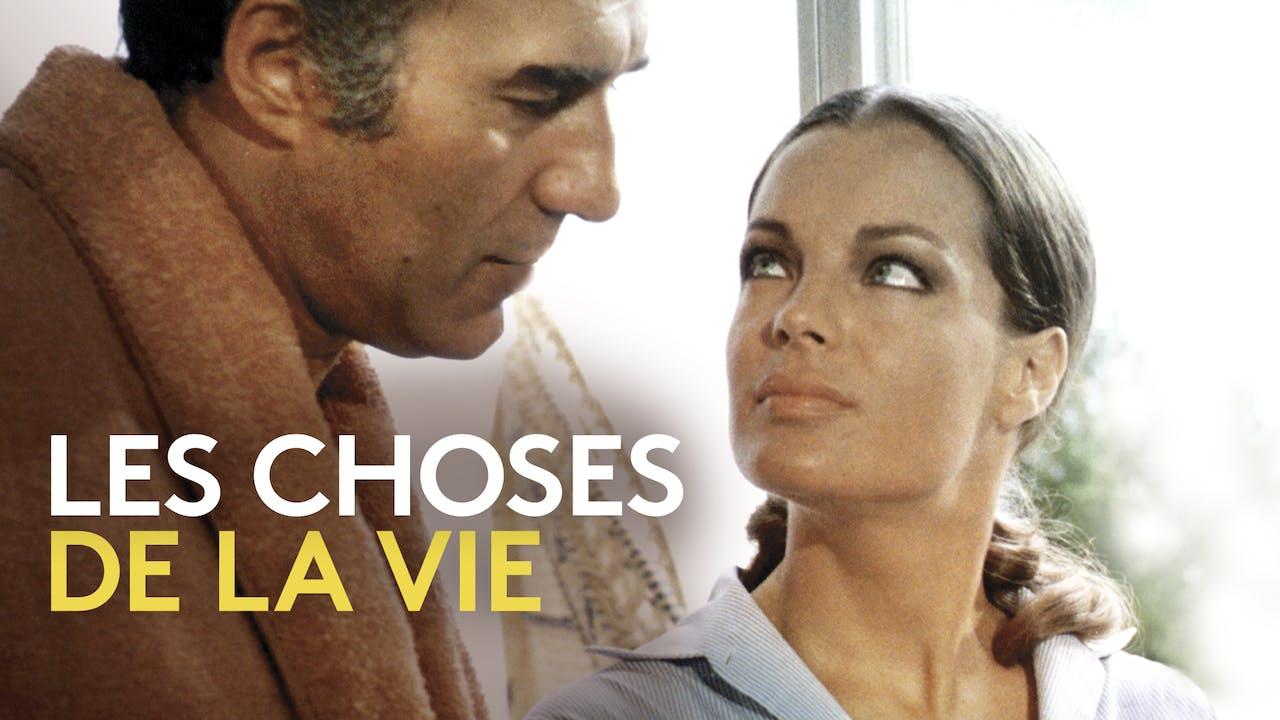 THE CINEMATHEQUE presents LES CHOSES DE LA VIE
