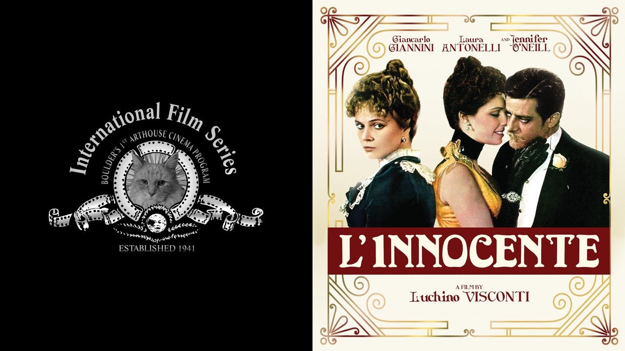 INTERNATIONAL FILM SERIES presents L'INNOCENTE