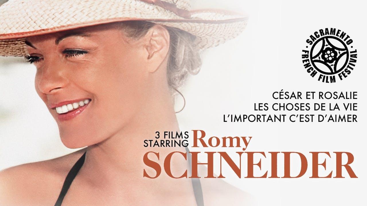 SACRAMENTO FRENCH FILM - ROMY SCHNEIDER COLLECTION