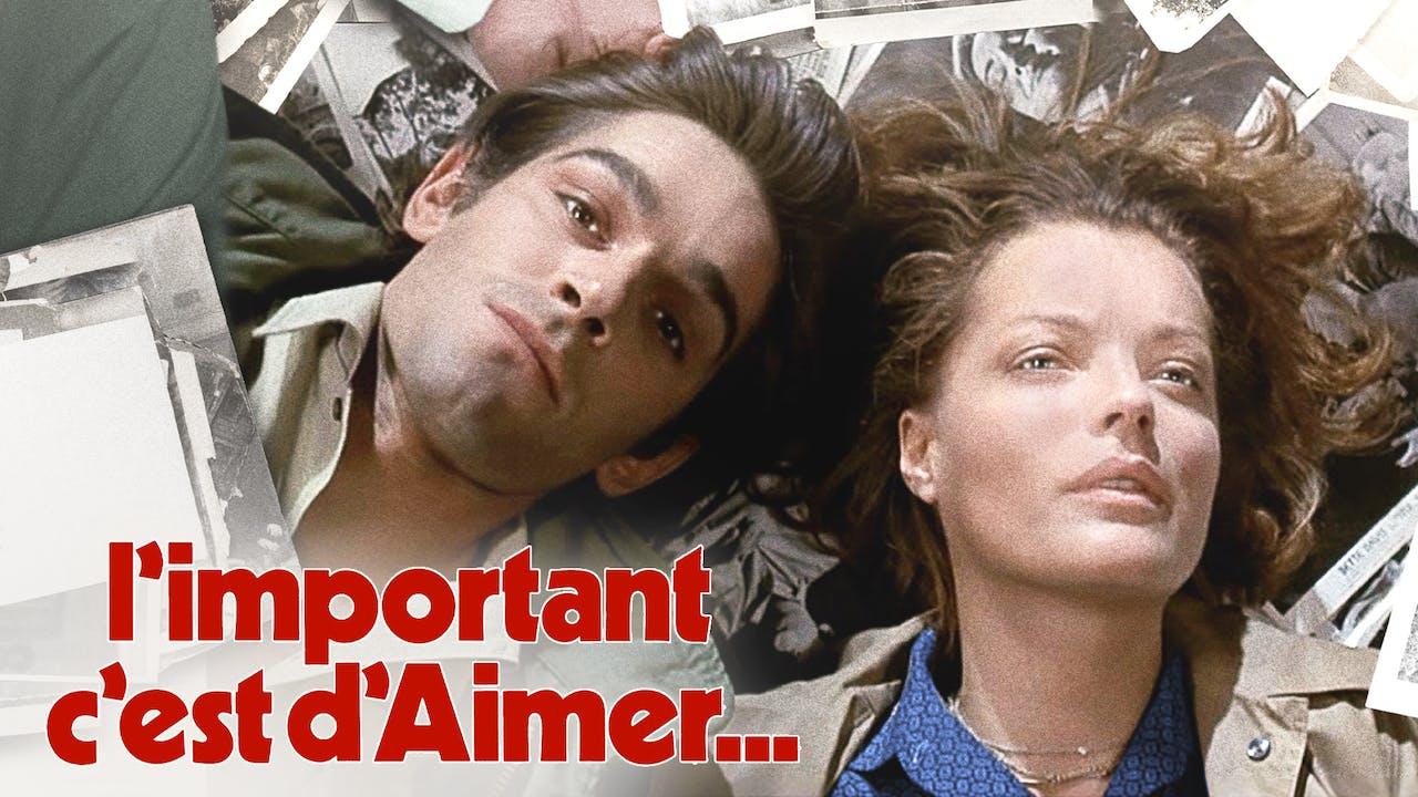 QUEEN'S FILM SOCIETY - L'IMPORTANT C'EST D'AIMER