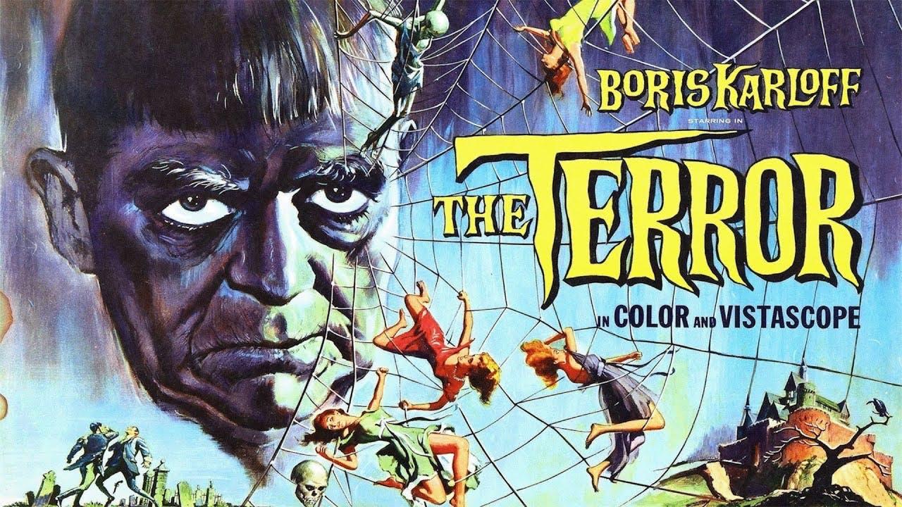 THE TERROR starring BORIS KARLOFF