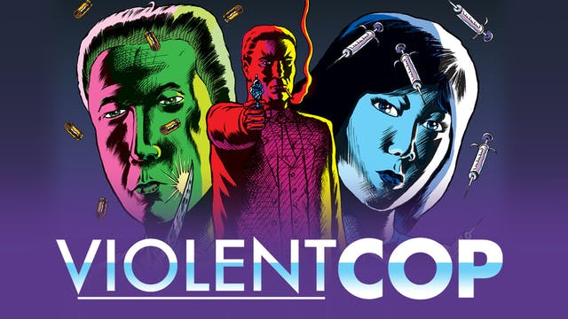 VIOLENT COP, directed by Takeshi Kitano